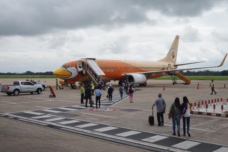 vliegtuig thailand