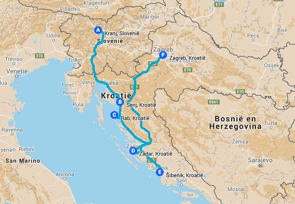 Rondreis 3 weken Kroatië