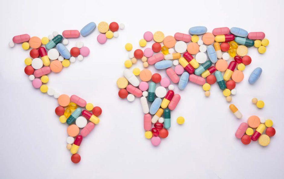 Geneesmiddel wereld