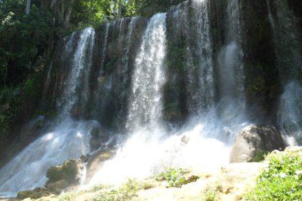 El Nicho watervallen