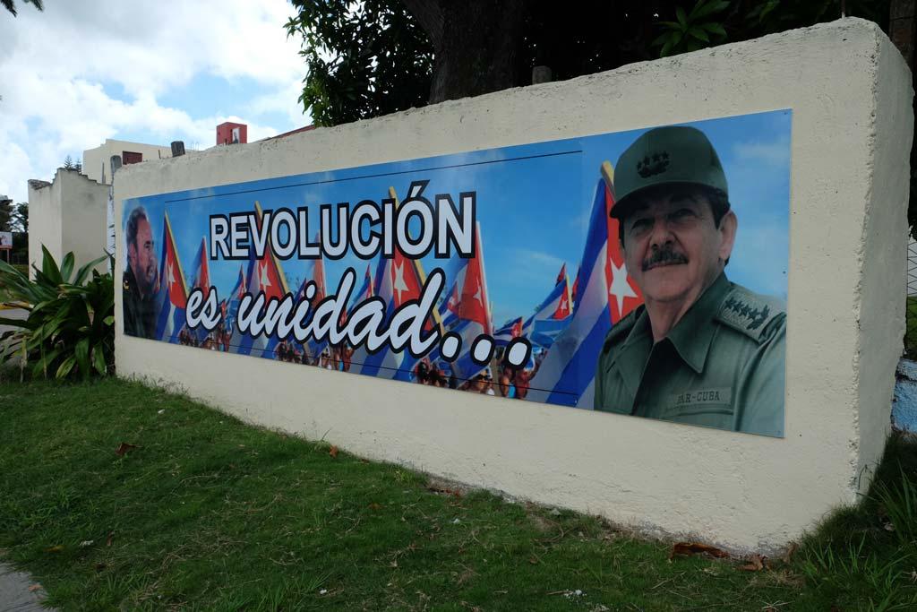 Revolucion es unidad