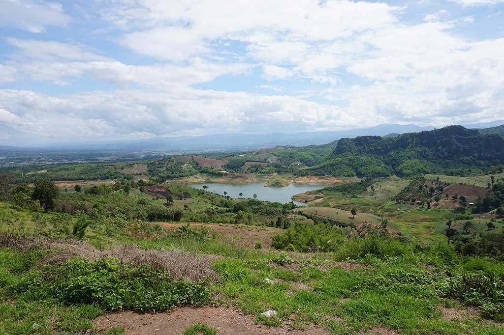 Landschap Chiang Rai
