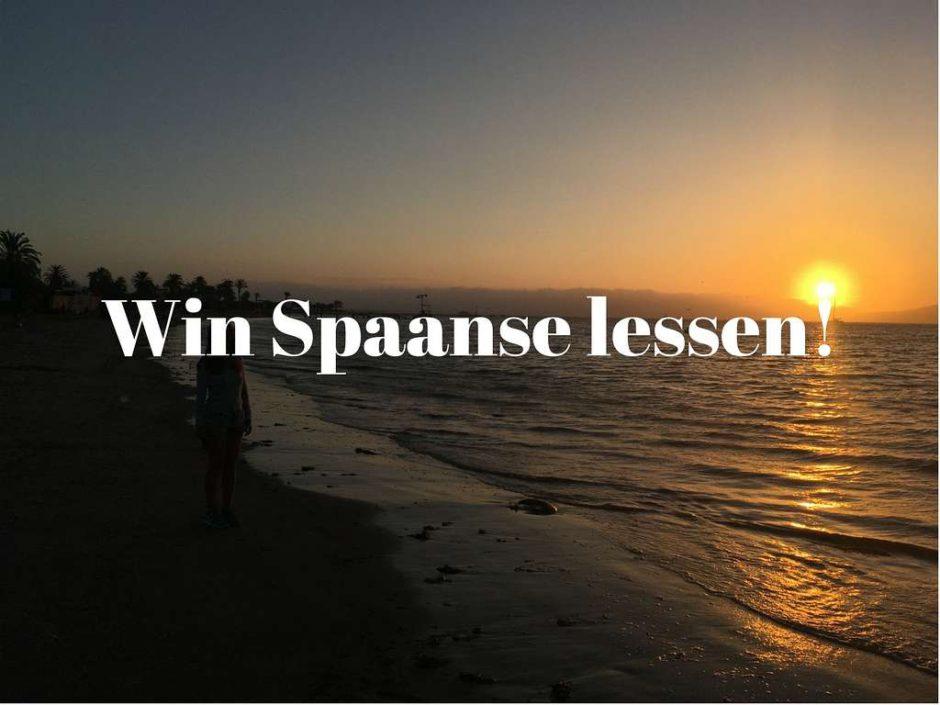 Win Spaanse Les