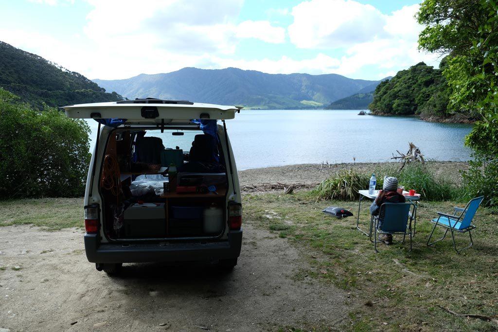 Camper Nieuw Zeeland